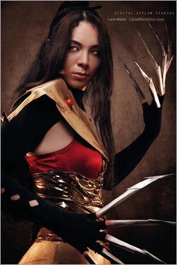 LanaCosplay as Lady Deathstrike (Photo by Digital Asylum Studios)