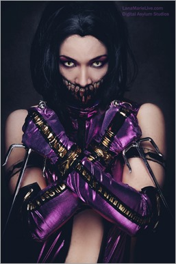 LanaCosplay as Mileena (Photo by Digital Asylum Studios)