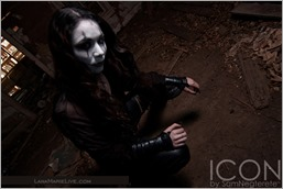 LanaCosplay as The Crow (Photo by Sam Negrete)