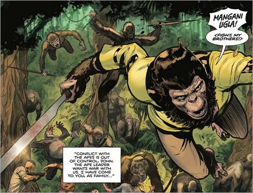 Tarzan on the Planet of the Apes #2