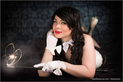 LanaCosplay as Zatanna (Photo by Bokeholics)