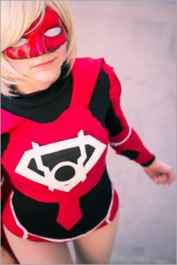 Musable Cosplay as Red Lantern Supergirl (Photo by Sargeant Photography)