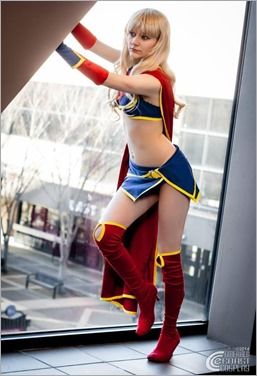 Musable Cosplay as Ame-Comi Supergirl (Photo by Emerald Coast Cosplay)