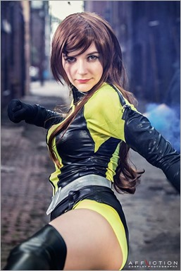 Musable Cosplay as Silk Spectre (Photo by Affliction Cosplay Photography)