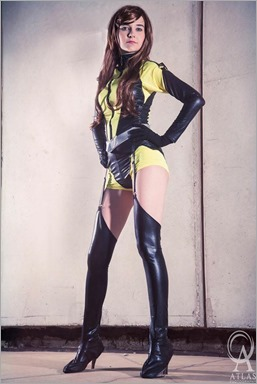 Musable Cosplay as Silk Spectre (Photo by Atlas Photography)