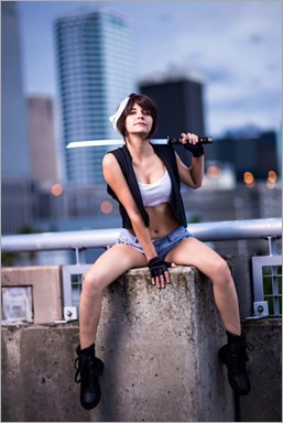 Musable Cosplay as Casey Jones Gender Swap (Photo by Kevin Wong Photography)