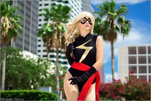 Musable Cosplay as Ms Marvel (Photo by Benjamin Oregame)