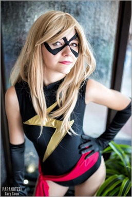 Musable Cosplay as Ms Marvel (Photo by Papanotzzi)