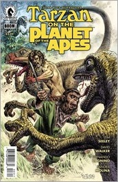 Tarzan on the Planet of the Apes #3 Cover