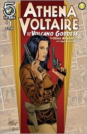 Athena Voltaire & The Volcano Goddess #1 Cover