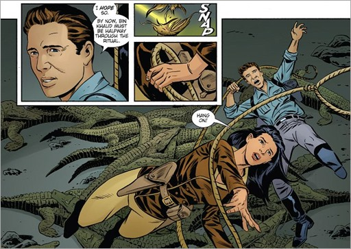 Athena Voltaire & The Volcano Goddess #1