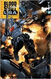 Bloodshot U.S.A. #2 Cover - Crain Variant