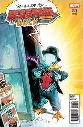 Deadpool The Duck #1 Cover - Albuquerque Variant