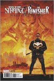 Doctor Strange/Punisher: Magic Bullets #1 Cover - Maleev Variant