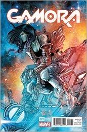 Gamora #1 Cover - Checchetto Variant