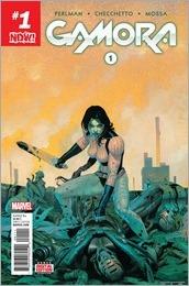 Gamora #1 Cover