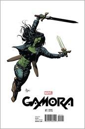 Gamora #1 Cover - Deodato Teaser Variant