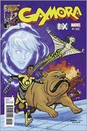 Gamora #1 Cover - Rubio ICX Variant