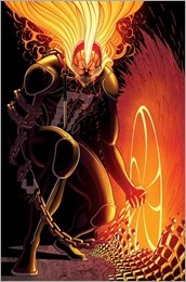 Ghost Rider #1 Cover - Moore Variant