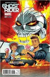 Ghost Rider #1 Cover - Smith Variant