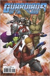 Guardians of the Galaxy #15 Cover - Animation Variant