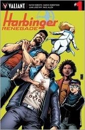 Harbinger Renegade #1 Cover - Robertson