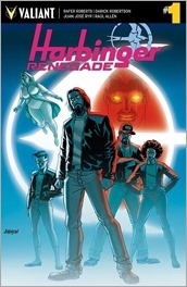 Harbinger Renegade #1 Cover C - Johnson