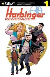 Harbinger Renegade #1 Cover D - Kano