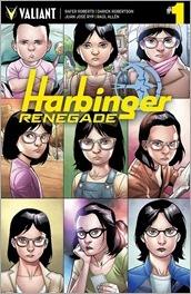 Harbinger Renegade #1 Cover - Henry Variant