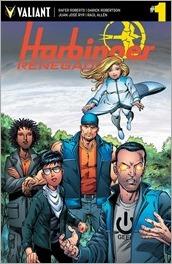 Harbinger Renegade #1 Cover - Layton Variant