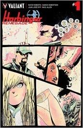Harbinger Renegade #1 Cover - Mahfood Variant