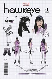 Hawkeye #1 Cover - Romero Design Variant
