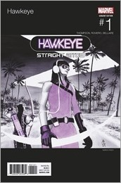 Hawkeye #1 Cover - Rudy Hip-Hop Variant