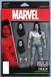 Hulk #1 Cover - Christopher Action Figure Variant