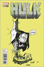 Hulk #1 Cover - Young Variant