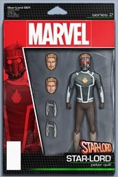 Star-Lord #1 Cover - Christopher Action Figure Variant