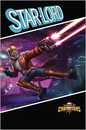 Star-Lord #1 Cover - Games Variant