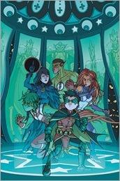 Teen Titans #2 Cover - Burnham Variant