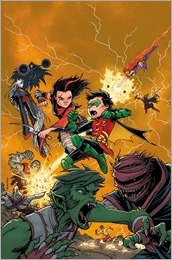 Teen Titans #3 Cover - Burnham Variant