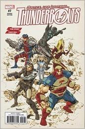 Thunderbolts #7 Cover - Panosian Variant