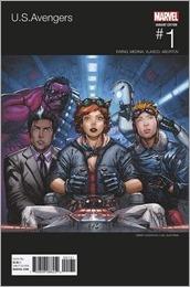 U.S.Avengers #1 Cover - Casanova Hip-Hop Variant