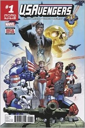 U.S.Avengers #1 Cover
