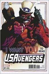 U.S.Avengers #1 Cover - Stegman Variant