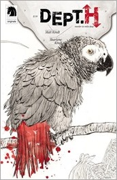 Dept. H #9 Cover