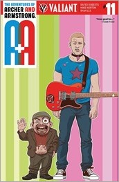 A&A: The Adventures of Archer & Armstrong #11 Cover A - Kano