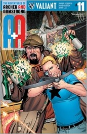 A&A: The Adventures of Archer & Armstrong #11 Cover B - Laming
