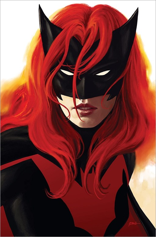 Batwoman: Rebirth #1 Cover