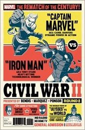 Civil War II #8 Cover - Cho Variant