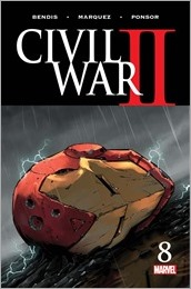 Civil War II #8 Cover