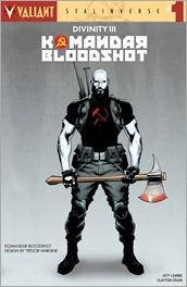 Divinity III: Komandar Bloodshot #1 Cover - Hairsine Variant
